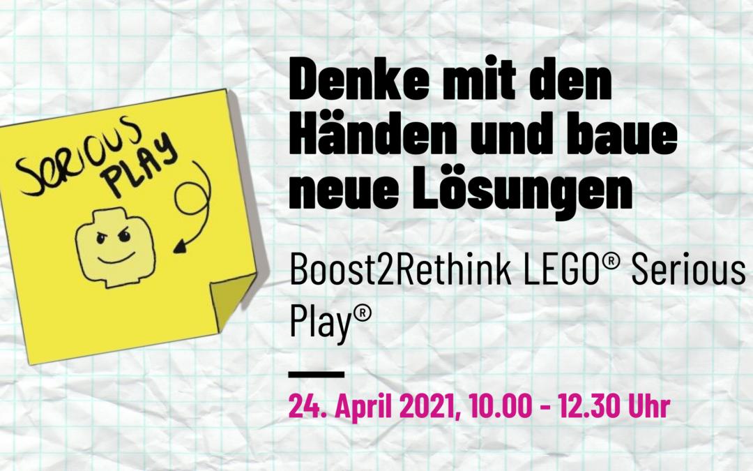 LEGO® Serious Play® – Denke mit den Händen, baue neue Lösungen