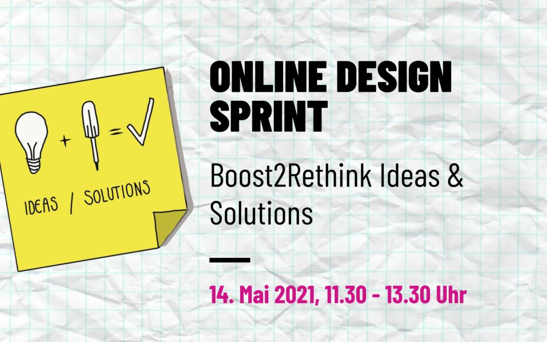 Online Design Sprint – lerne, wie Innovation remote getrieben wird.